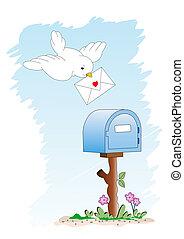 boîte lettres, -, you\\\'ve, obtenu, mail...