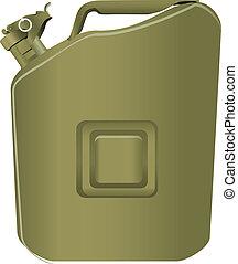boîte métallique, essence