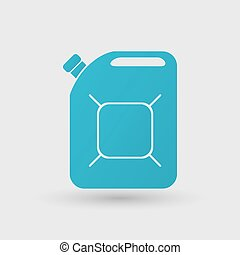 boîte métallique, icône