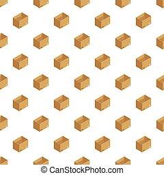boîte, modèle, stockage, seamless