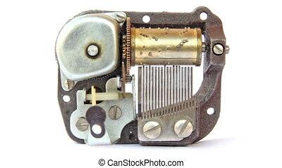 boîte, musique, mécanisme