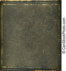 boîte, or, vendange, cadre, texture, impression