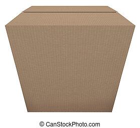 boîte, paquet, prêt, bateau, carton, publipostage, ordre, stockage