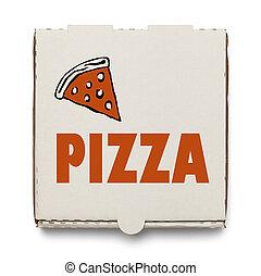 boîte, pizza