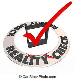 boîte, possibilité, réalité, réaliste, potentiel, marque,...