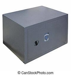 boîte, sûr, angle