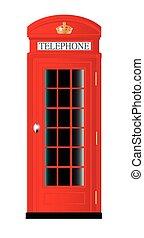 boîte, téléphone, royaume-uni