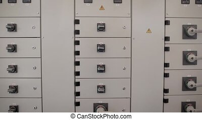 boîte, transformateur, électrique, sistomy, stations, électricité, bouclier, sites, puissance, production, branché, ou, maison, donne