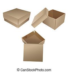 boîtes, cadeau