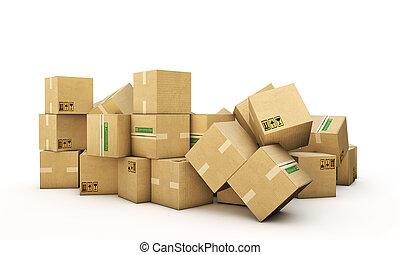 boîtes carton