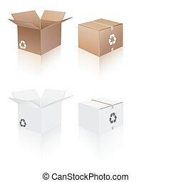 boîtes, collection