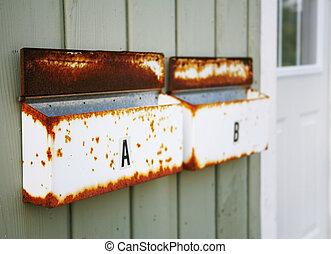 boîtes lettres