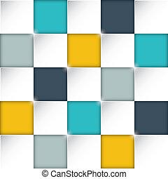 boîtes, rectangle, seamless, fond
