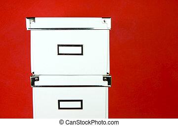 boîtes, stockage