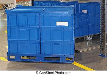 boîtes, transport