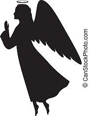 boże narodzenie, anioł