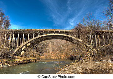 B&O Bridge over the Patapsco River in Maryland
