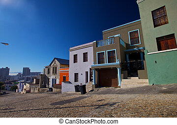 Bo-Kaap District, Cape Town, Western Cape Province, South...