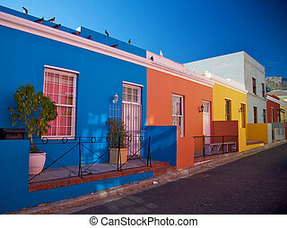 Bo-Kaap District, Cape Town, South Africa - Bo-Kaap...