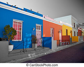 Bo Kaap District, Cape Town, South Africa