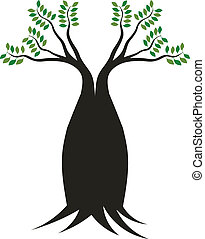 Boab tree image. Concept of stable - Boab tree image. ...