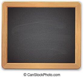 board., école, noir