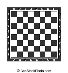 Board, chess, chess board, game icon. Vector illustration, flat design.