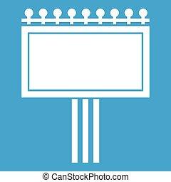 Board for statistics icon white