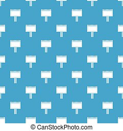 Board for statistics pattern seamless blue