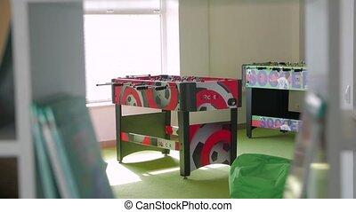 Board game soccer camera movement