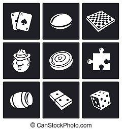 Board games icon. Vector Illustration.