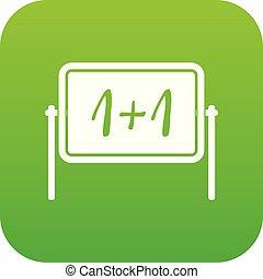 Board icon digital green