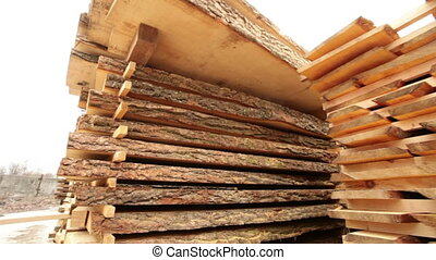 board in the stack wood industry