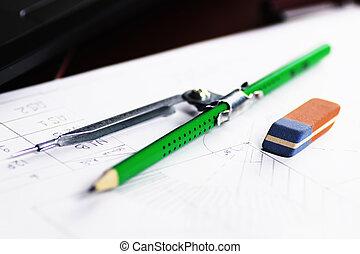 board pencil divider