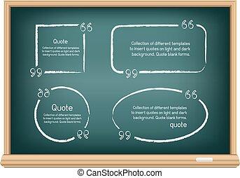 board quote template