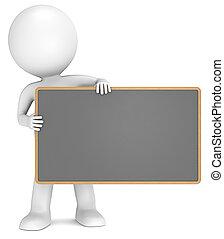 board., schwarz