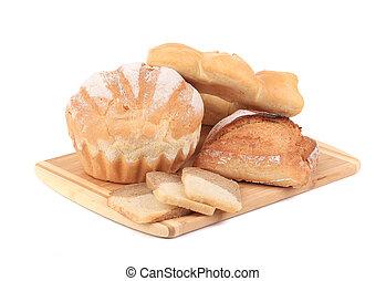 board., taglio, bread