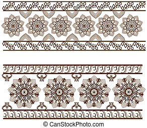 Two Different Border design, geometrically aligned .