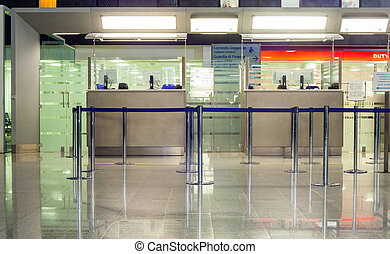 Boarding Gate, Catania airport - Boarding Gate of Catania...
