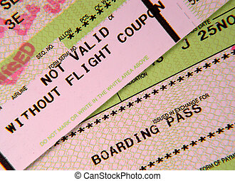 Boarding Pass 2 - Photo of Boarding Passes.