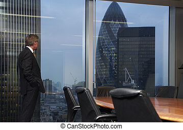 Boardroom and man