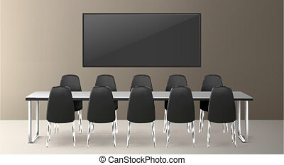 Boardroom for business meetings and conference