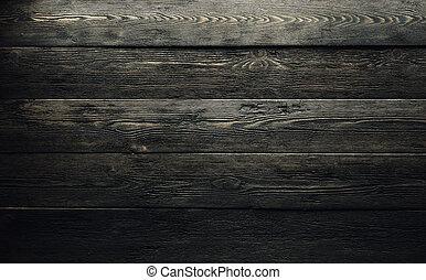 boards., arrière-plan., bois, vieux, texture