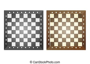 boards., jogo, xadrez