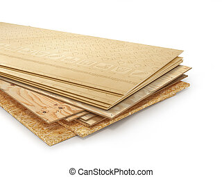 boards., osb, anders, gips, illustratie, triplex, board., ...