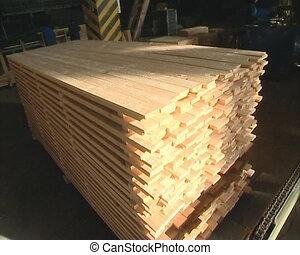 boards workers  sawmill