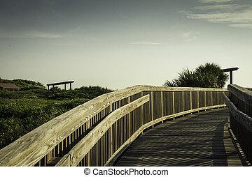 Boardwalk at Satellite Beach