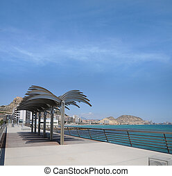 Boardwalk in Costa Blanca Alicante
