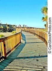 Boardwalk to the pier 2