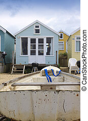 Boat and Beach Hut